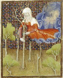 Isia, égérie d'Herborisia, vient d'Isis, la déesse qui incarne la terre fertile.